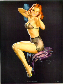 the pin up art of jules erbit