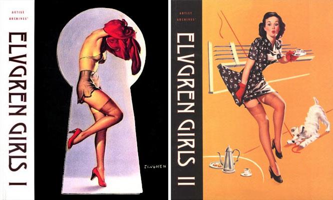 Elvgren Girls I & II (Artist Archives)