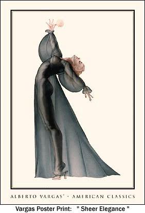 """""""The Sheer Elegance"""" by Vargas #6"""