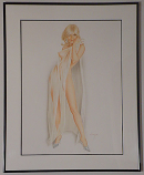 "Framed Playboy Vargas ""May 1968"" Limited Edition Print"