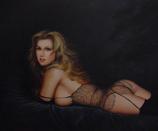 """Lace"" Original Nude Oil Painting #5"