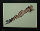 """Silk Siren"" by Oliva de Berardinis"