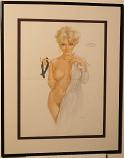 Playboy Vargas Print (January 1970)